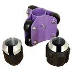 "XTI offers 2"" 4"", 6"" and 9"" skids for drain camera"