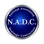 National Association of Drainage Contractors logo